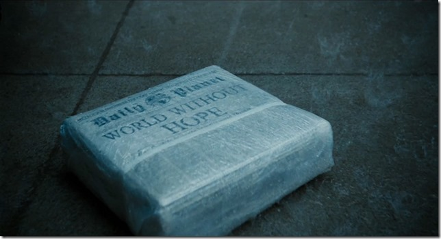 Justice League Daily Planet Headline World Without Hope