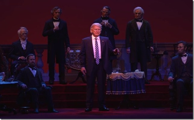 Trump Hall of Presidents Disney World via GQ (2)