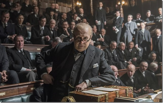 Darkest Hour Churchill in Parliament