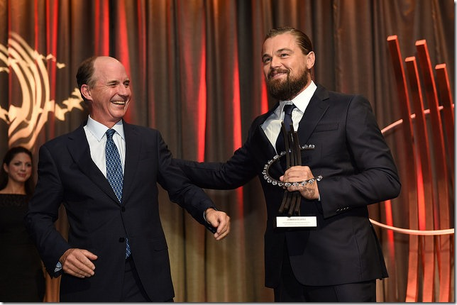 CGI2014 Leo gets his award