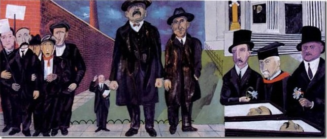 SU Ben Shahn S and V mosaic
