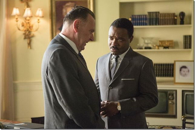 Selma TW and DO as LBJ and MLK