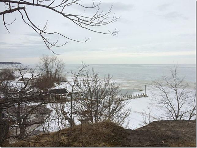 Post Card Lake Erie Bob Goddard 2015 03 13