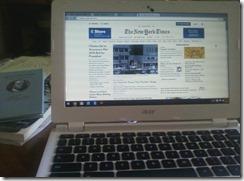 2015 04 12 Her new Chromebook
