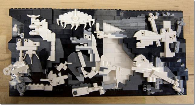 LEGO Guernica Veronica Watson NYT