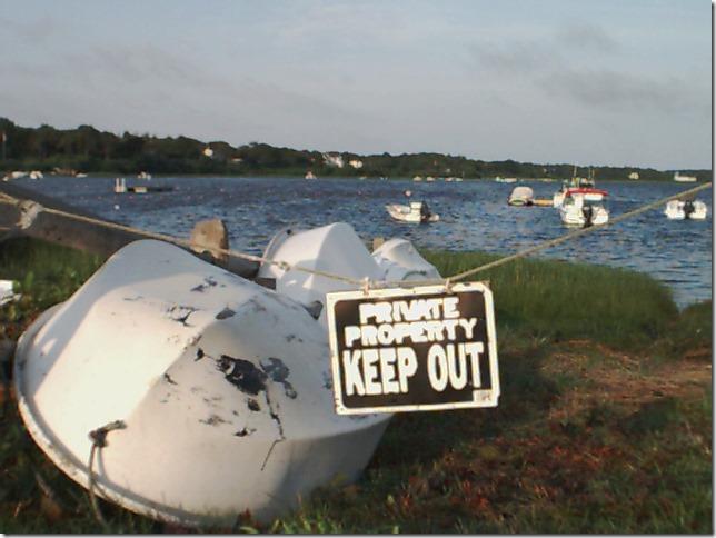 2006 07 16 Cape Cod Oyster Pond Sunday Morning