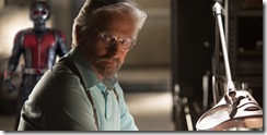 AntMan Michael Douglas as Hank Pym