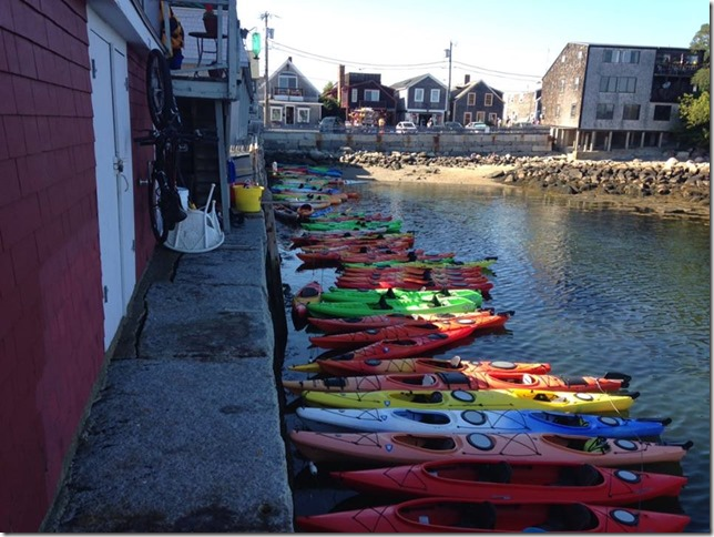 2014 08 19 Melrose Rockport Town kayaks JC
