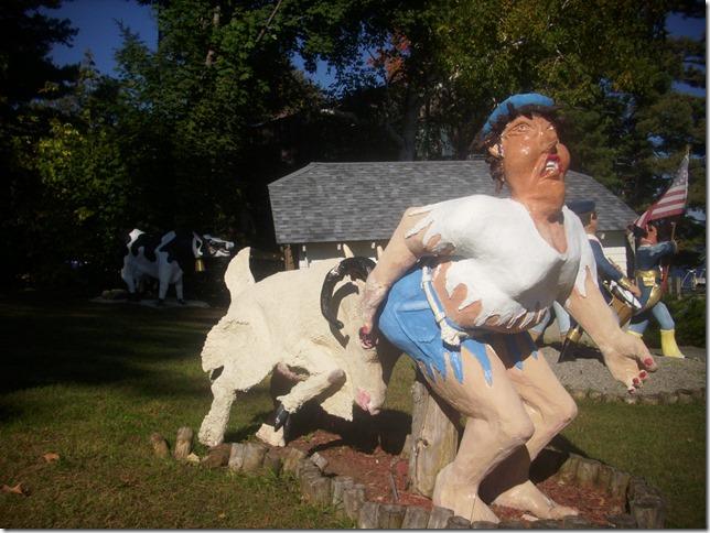 2015 10 11 Lake George Folk Art Goat 1
