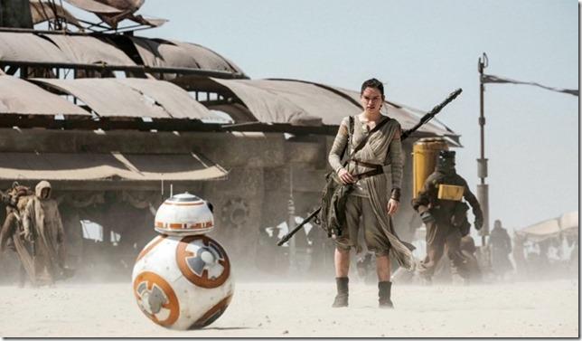 Star Wars VII Rey as Percival
