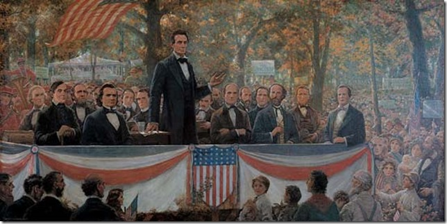 Lincoln Debate Robert Marshall Root Illinois State Historical Library