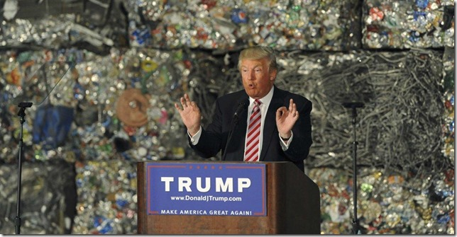 Trump Trade Trash NY Daily News