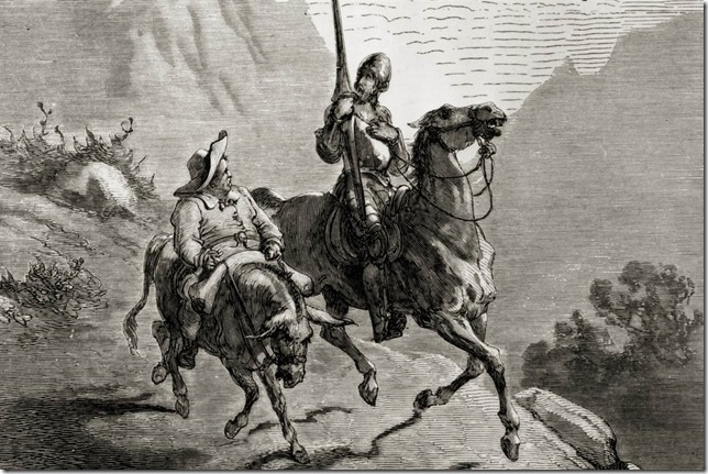 Dore Don Quixote and Sancho