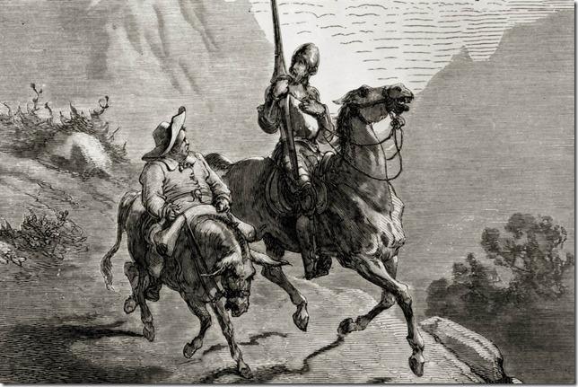 Dore Don Quixote and Sancho