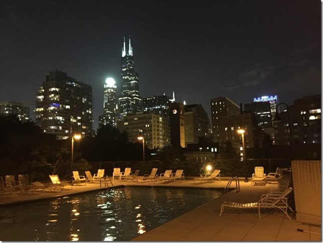 Post Card Ann Hemenway Chicago Rooftop 2016 08 06