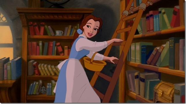Beauty and the Beast cartoon Belle