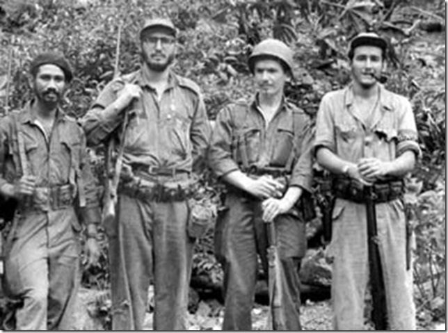 Castro Fidel and his comrades