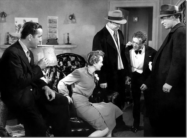 Maltese Falcon Spade Brigid Cairo and cops