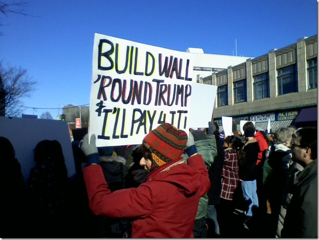 2017 02 04 Protest in Poughkeepsie 06