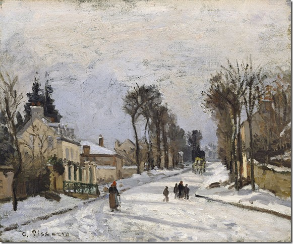 Painting Pissaro Road to Versailles Wikipedia