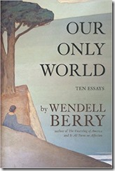 Cover Our Only World Berry