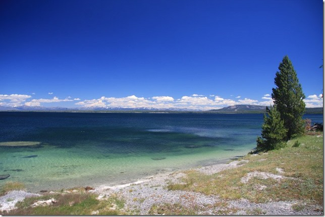 Post Card  Cheryl Rofer Yellowstone Lake 2017 07 17