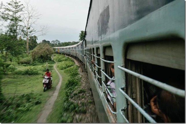 National Geographic India Vivek train Matthieu Paley NG
