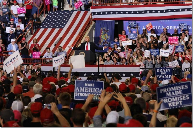 Trump 100 Days Rally Harrisburg Evelyn Hockstein via MySA