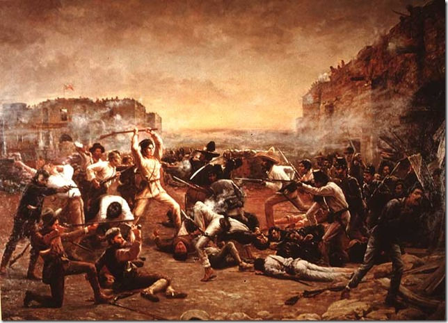 Alamo Fall of the Alamo Robert Jenkins Onderdonk Texas State House Wikipedia