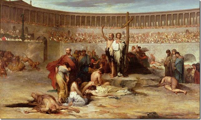 Painting Triumph of faith Eugene Thirion Wikimedia