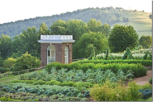 Jefferson Monticello Vegetable Garden Monticello org