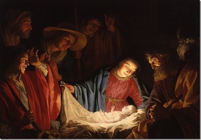 Painting Adoration of the Shepherds Gerard van Honthorst Wikipedia