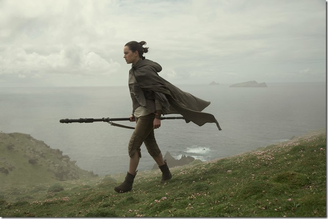 Star Wars VIII Rey on her quest