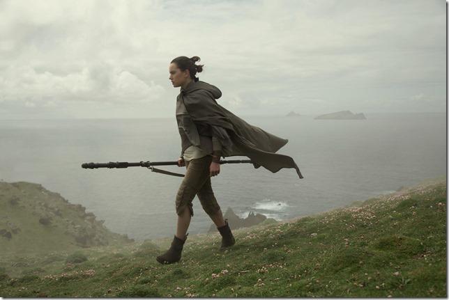 Star Wars VIII Rey on her quest