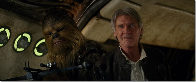 Star Wars VII Chewie were home