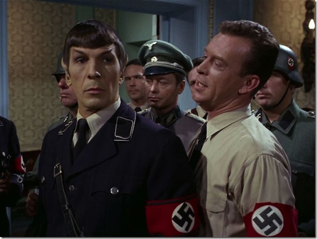 Star Trek TOS Patterns of Force Spock meets the Deputy Fuhrer