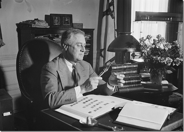 FDR Stamp Collection Library of Congress