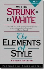 Cover Elements of Style