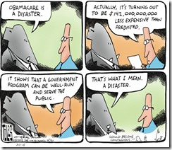 Toles Obamacare disaster 2015 03 11 Kos