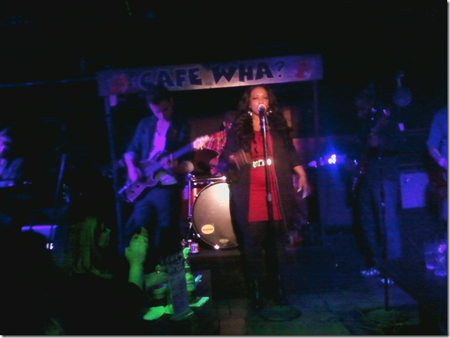 2015 04 18 Cafe Wha Kim Summerson Proud Mary