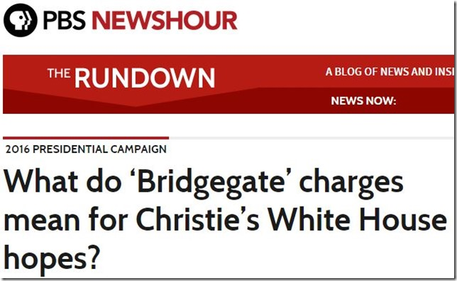 Christie Bridgegate