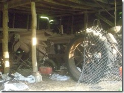 2015 07 23 Shed Second Tractor 1