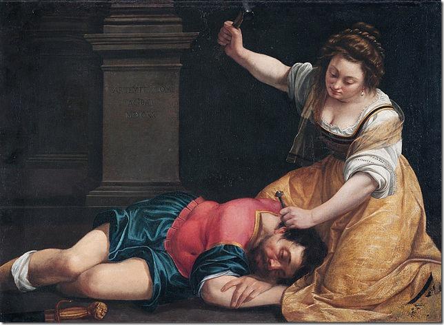 Bible Giaele e Sisara Artemisia Gentileschi Wiki