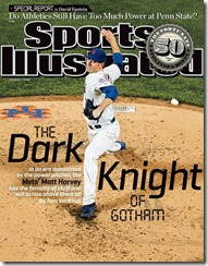 Mets Harvey Dark Knight SI Cover