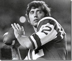 Joe Namath NFL Hall of Fame