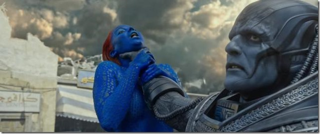 X-Men Apocalypse Mystique and Apocalypse