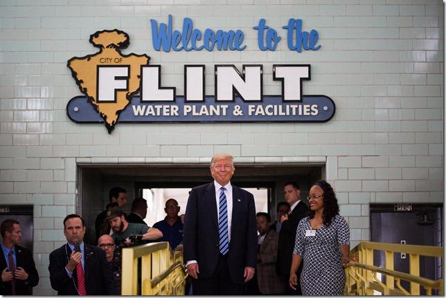 Trump Flint visit Damon Winter NYT