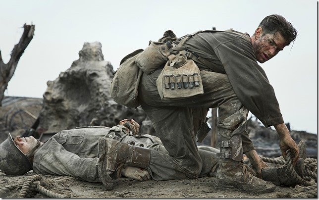Hacksaw Ridge Private Doss Lord help me get one more