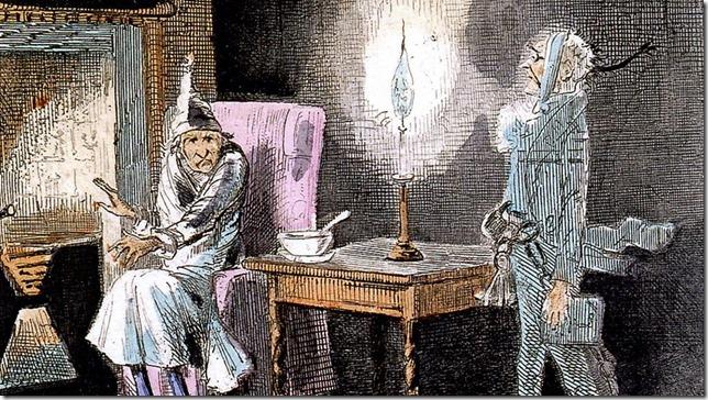 Dickens Carol Marley's Ghost