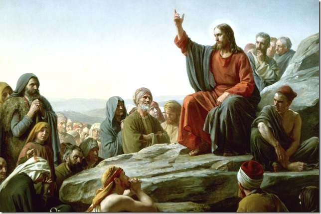 Bible Sermon on the Mount Carl Bloch